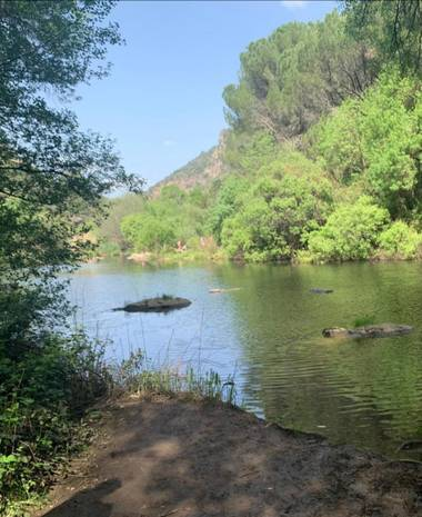 Lunamartin en Hamelin: Paisaje, Río guadiato