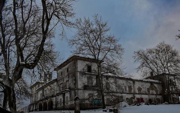 Henar en Hamelin: Paisaje  (Navarra), #invierno20  #paisajenevado #lugaresabandonados