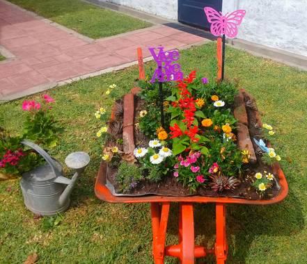 marbar666 en Hamelin: Paisaje, #ParquesyJardines  #IdeasOriginales    #ArreglosParaelJardin  Lugar: Convento de carmelitas descalzas en la ciudad de Luján...