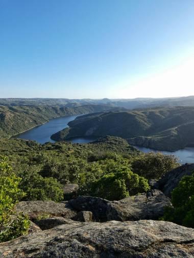 mariale en Hamelin: Paisaje,  📸 #marialemdza #Naturaleza #ParqueNaturalDeLosArribes #río #river #BlueSky  #azul #green #ParqueNaturalDeLosArribesDelDuero...
