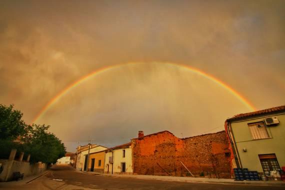Tonigarduno86 en Hamelin: Paisaje  (Serradilla del Arroyo), #arcoiris