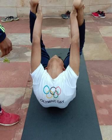Diana Rosa en Hamelin: Paisaje, Yoga para niños...