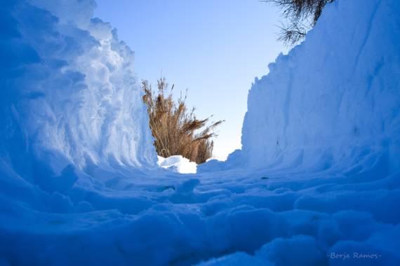 Borja.Ra en Hamelin: Paisaje  (Toledo), Nevada histórica, imagen que no se repetía desde 1952. Filomena lo hizo posible ❄️☃️ #invierno20