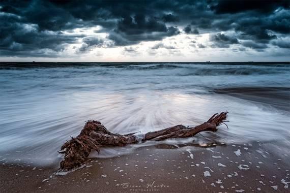 Osk_PH en Hamelin: Paisaje  (La Línea de la Concepción), Amanecer en playa de levante en La Línea de la Concepción (Cádiz) #paisaje #paisajenaturales #land...