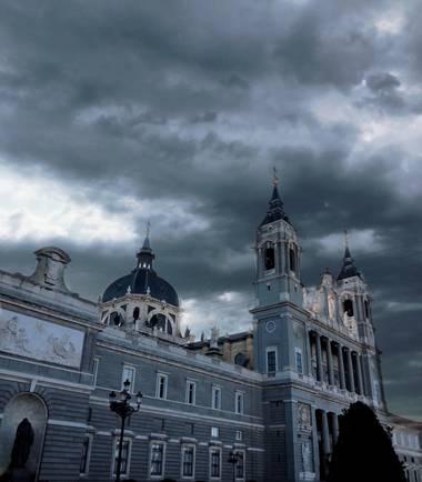 Henar en Hamelin: Paisaje  (Madrid), #madrid #paisaje #palacio #dianublado  #ciudad