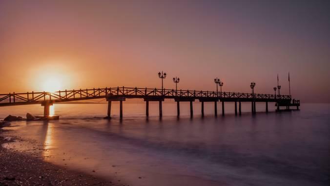 Nataliadiazgallego en Hamelin: Paisaje  (Marbella), Precioso amanecer 🌅 @hamelin