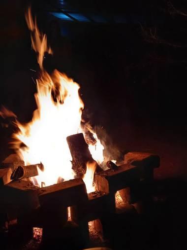 Stellazumbado en Hamelin: Paisaje, #fuego