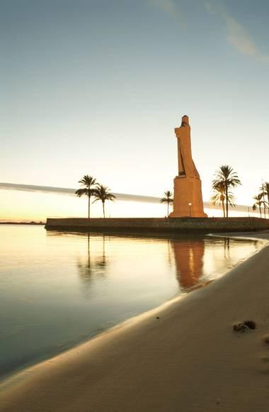 Capturolavida en Hamelin: Paisaje  (Huelva), #huelva #andalucia #atardecer   Monumento a la Fe Descubridora