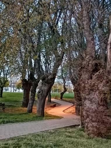 Susandresro en Hamelin: Paisaje  (Lugo), Parque Lugi
