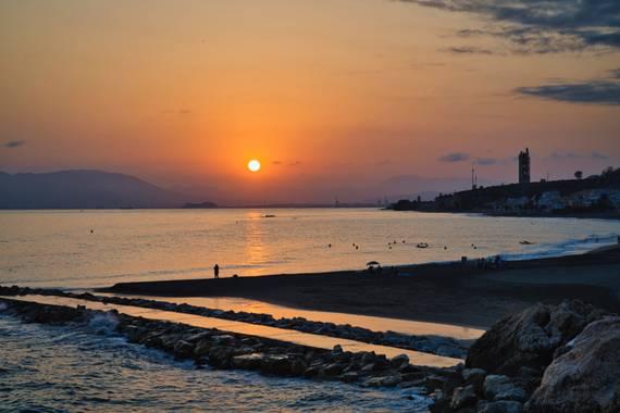 ralphlagarillo en Hamelin: Paisaje  (Spain), Atardecer en la bahía de Málaga