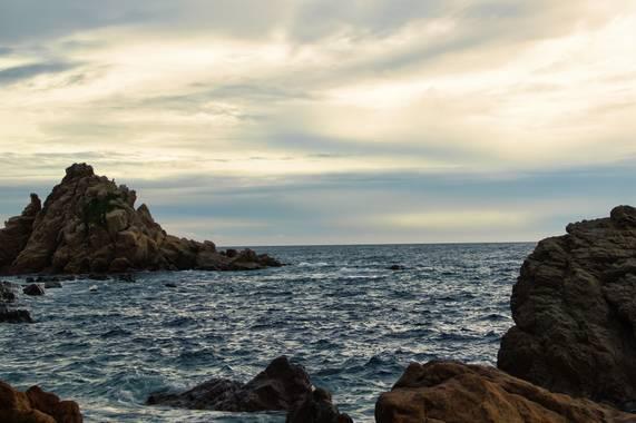 Efren2288 en Hamelin: Paisaje, Punta Santa Anna, Blanes