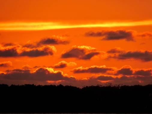 borisruiz21 en Hamelin: Paisaje, Cielo naranja a la orilla del Mar Caribe colombia