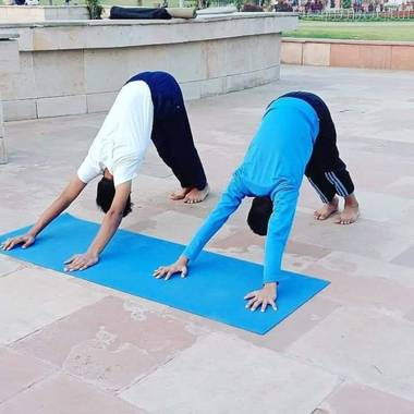 Diana Rosa en Hamelin: Paisaje, Yoga,pilate