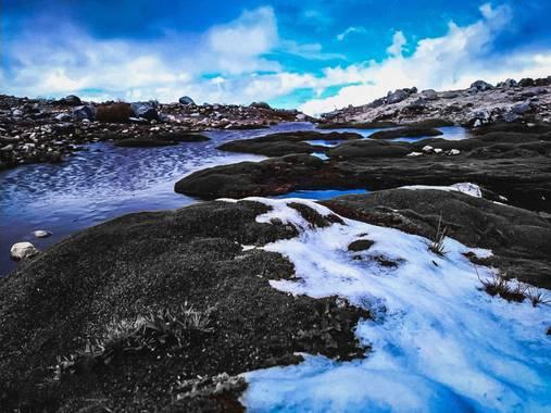 Marçe.Lateacher_López en Hamelin: Paisaje  (Güicán), #invierno20 #paisajes #colombia #nature #nieve #hamelin