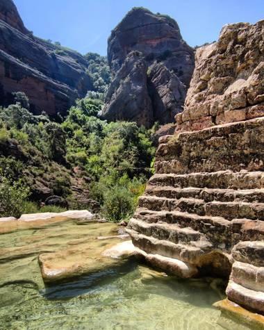 aidalzira en Hamelin: Paisaje  (Alquézar), #paisaje #paisajes ruta de las pasarelas de Alquézar.