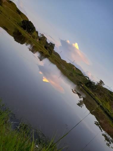 santiago.zamora01 en Hamelin: Paisaje  (Cimitarra), Laguna, Hacienda los Medios ...🏞
