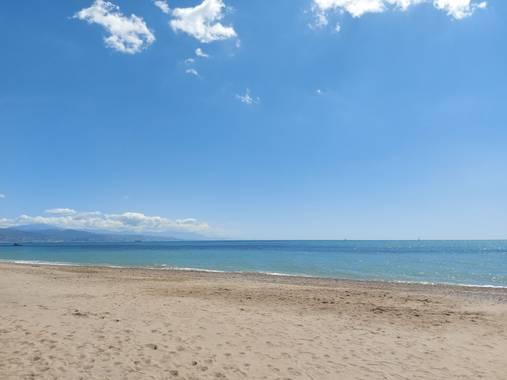 Apasnau75 en Hamelin: Paisaje  (Málaga), Playa en la Desembocadura del Guadalhorce
