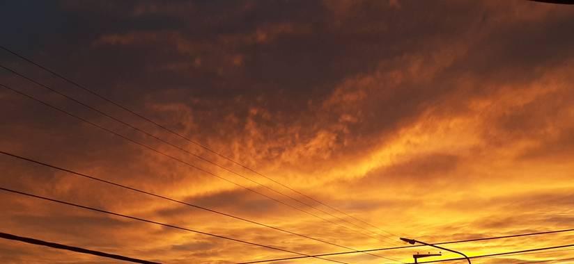 Sebastian_uva en Hamelin: Paisaje  (San Luis), #cielosotoñales desde San Luis,Argentina.
