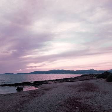 Dafesa13 en Hamelin: Paisaje  (Palma), #puestadesol #mallorca #sinfiltros #sinfiltro #marmediterrani #puestasol