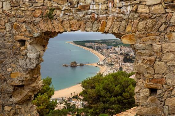 manuel.torres1 en Hamelin: Paisaje  (Blanes), Vista de la Playa de Blanes, España desde su castillo.