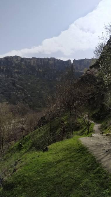 Mjesusalmendro en Hamelin: Paisaje  (Valdepeñas de la Sierra),