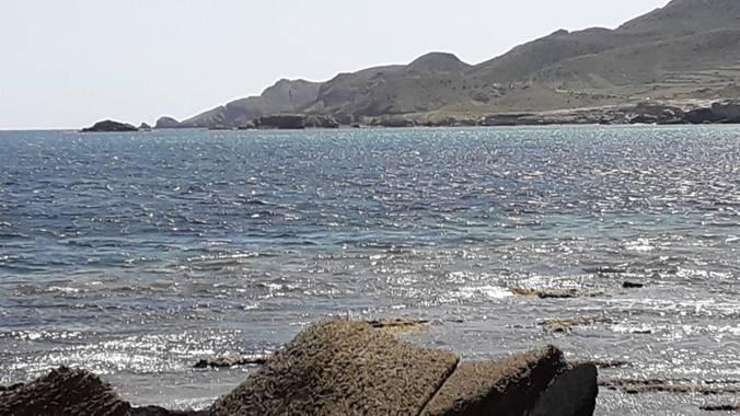Solerantonio2 en Hamelin: Paisaje  (Níjar), Al fondo calas de los escullos
