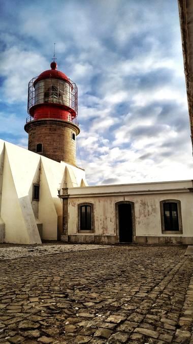 J. Inés Fuertes en Hamelin: Paisaje  (Vila do Bispo), Faro de  de San Vicente, Portugal #faro #cabodesanvicente #algarve #portugal