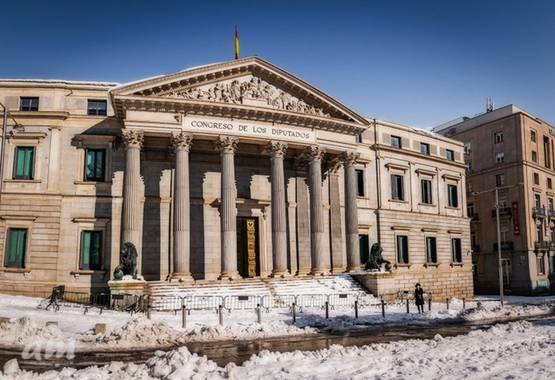 Martinezantonio.correo en Hamelin: Paisaje  (Madrid), #invierno2020 #nevadaenmadrid #congresodiputados#