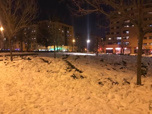 SantiagoMrv 🍀 en Hamelin: Paisaje  (Madrid), #invierno20 #madrid @navidades
