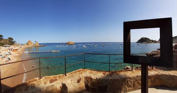 Manelsersol en Hamelin: Paisaje  (Tossa de Mar), #paisajesnaturales #tossademar #costabrava #mediterraneo #marmediterraneo #calas #playas