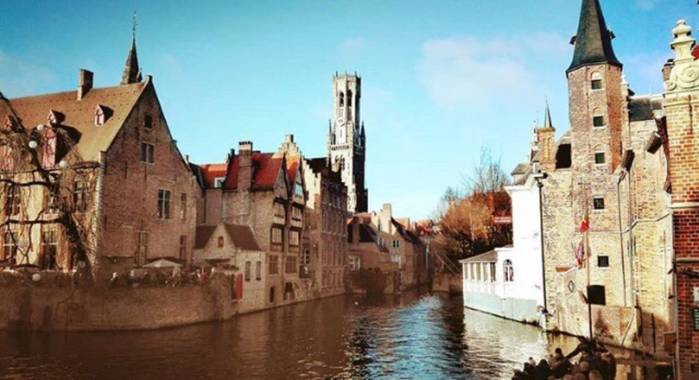 Sayurigion en Hamelin: Paisaje  (Brugge), #macrofoto20