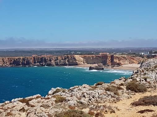 Apasnau75 en Hamelin: Paisaje  (Vila do Bispo), Océano, acantilados y viento, mucho viento...