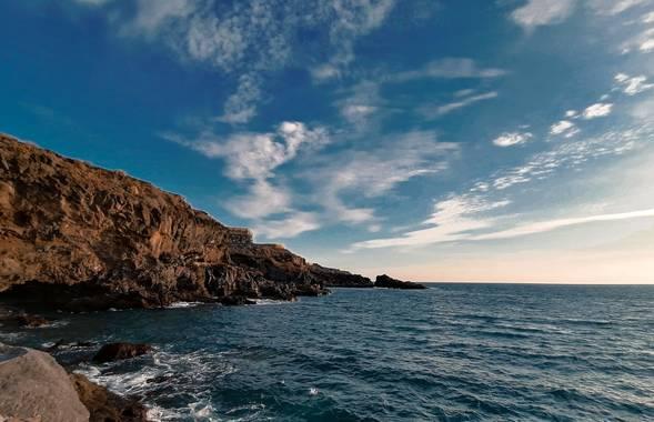 Mvchc0915 en Hamelin: Paisaje  (Adeje), #tenerife #spain #landscape #view #southside #wave #surf #nikon_photographer #nikon #beached #capture #travelholic ...