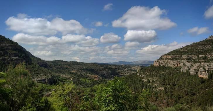 aidalzira en Hamelin: Paisaje  (Cortes de Pallás), Ruta Barranco de la Barbulla al completo, Cortes de Pallás. #paisajes #paisaje