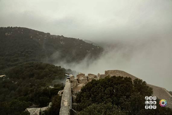 joanluque en Hamelin: Paisaje  (Cabrera de Mar), Niebla en el Castillo de Burriac!!!