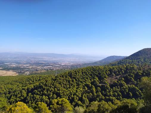 Virginia en Hamelin: Paisaje  (Alhaurín de la Torre),  Vistas desde el Monte jarapalo