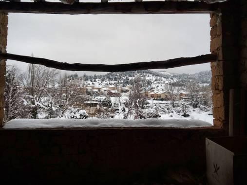 zoexaviyeva2010 en Hamelin: Paisaje  (Valderrobres), #invierno20 #filomena2021  Estanpa de lo que deja una borrasca con nombre de cómic..
