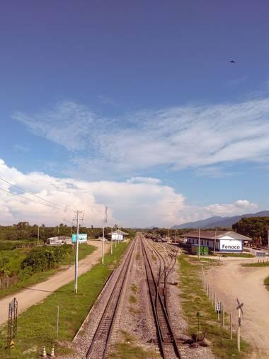yiyartcolombia en Hamelin: Paisaje, #viaferrea #cienagamagdalena #colombia