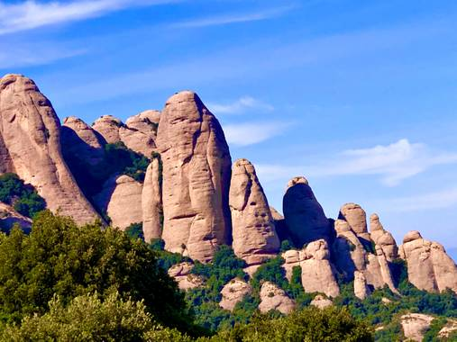 alionacociu en Hamelin: Paisaje  (Monistrol de Montserrat), Montaña  Montserat.