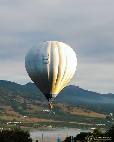 Rafael Molina  en Hamelin: Paisaje  (Ronda), #paisaje #globo#ronda#vuelos en globo #vista de un globo