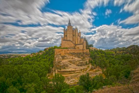 Foto Rubén  en Hamelin: Paisaje  (Segovia), Alcázar de Segovia