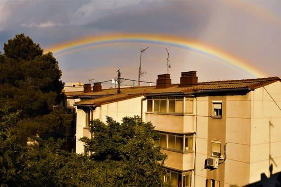 ilie77b en Hamelin: Paisaje  (Madrid), #arcoiris