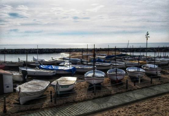 Manelsersol en Hamelin: Paisaje  (Calonge i Sant Antoni), #paisajesnaturales #costabrava20 #Girona #Palamos #Calonge #Playas #Puertos #Barcas