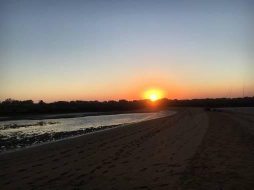 valeriamarc98 en Hamelin: Paisaje  (Huelva), Playa. #huelva #verano #atardecer