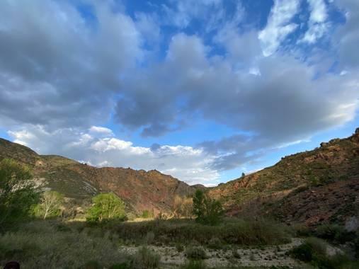 Mariavalverdemora en Hamelin: Paisaje  (Ugíjar), Las Alpujarras
