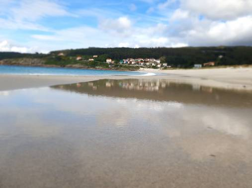 Eva.160968 en Hamelin: Paisaje  (Laxe), #laxe #galiciamagica #playa