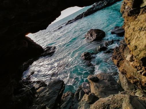 Mvchc0915 en Hamelin: Paisaje  (Adeje),  #tenerife #spain #landscape #view #southside #wave #surf #nikon_photographer #nikon #beached #capture #travelholic...