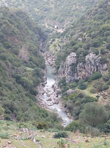 Apasnau75 en Hamelin: Paisaje  (Cortes de la Frontera), Mirador del Cañón de las Buitreras, un paraje que corta la respiración.