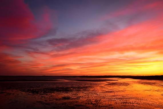 Ninigabi en Hamelin: Paisaje  (Ayamonte), #paisaje #Atardecer #Ayamonte  Bonito atardecer en la Playa de Canela ( Ayamonte).