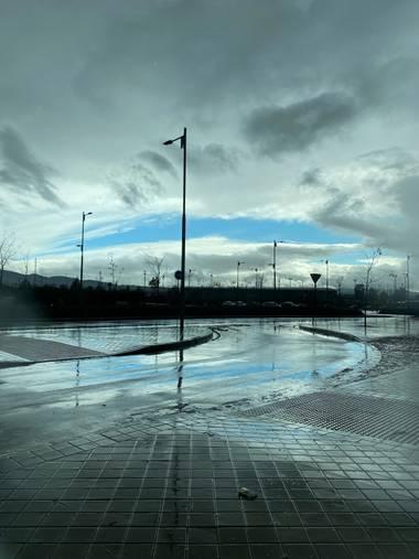 Pedro Ruiz 🍁 en Hamelin: Paisaje  (Granada), Tarde de lluvia
